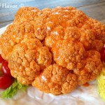 Whole Roasted Buffalo Cauliflower