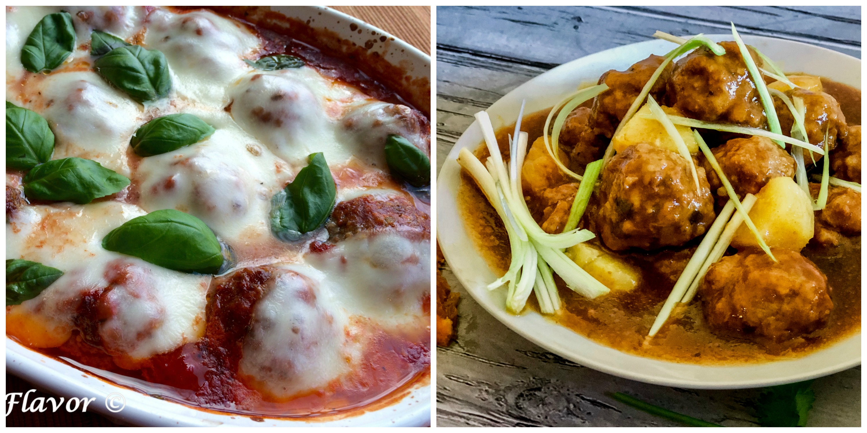 Baked Meatballs and Sweet and Spicy Meatballs