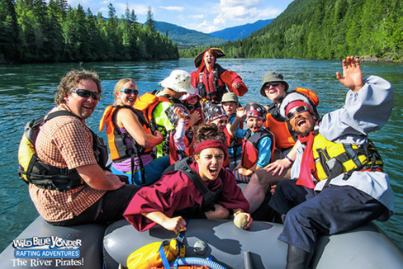 River Pirates Rafting- summer attractions