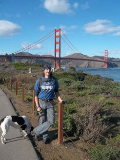 Hiking to the Golden Gate