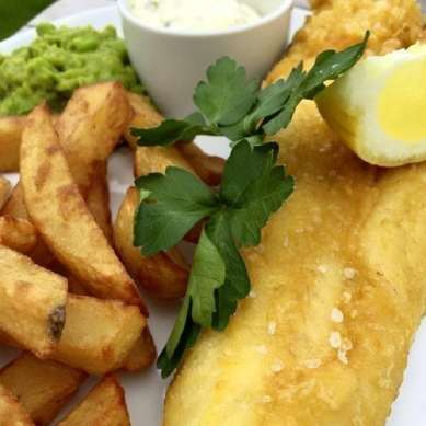 The Farm Kitchen - Fish & Chips