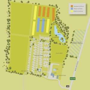 Swiss Farm Campsite Map
