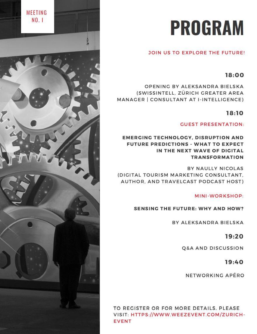 The Next Big Thing Meeting Zurich Swissintell