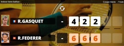 Finale coupe Davis  2014 : Victoire de la suisse