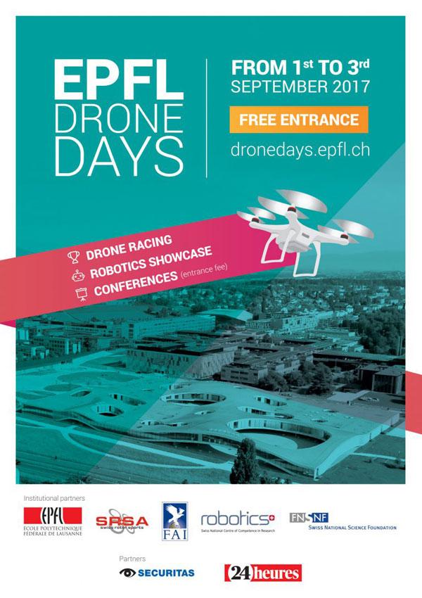 EPFL- Drone days