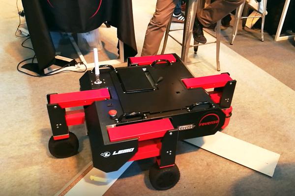 Robot et connecteur - Vivatech18