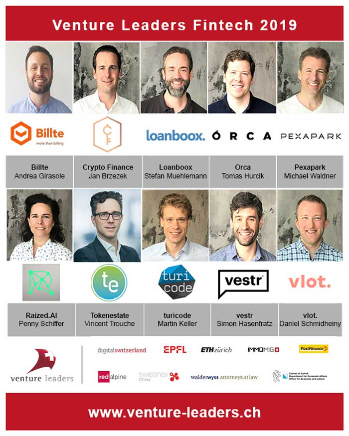 Venture leaders 2019 - Hong Kong Fintech week