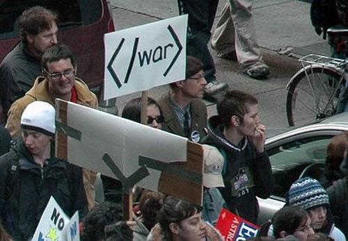 Geek Protest
