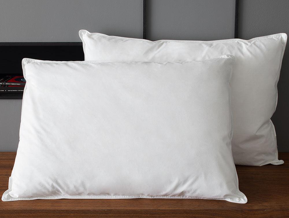 down around pillow
