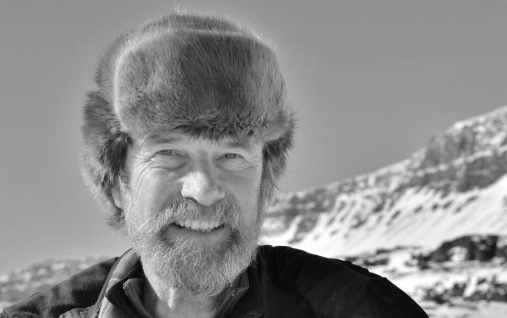 GRöNLAND  08.05.2018 Disco Iland   Prof. Konrad Steffen, Direktor des WSL und Pionier der Eisforschung  c fridolinwalcher.ch