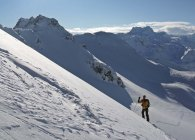 Climbing Scalettahorn