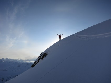 It seems steep!