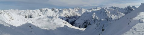 Panoarma Silvretta Mountains