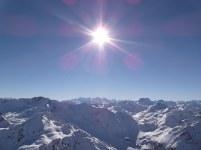 Sun and Mountains (Davos)