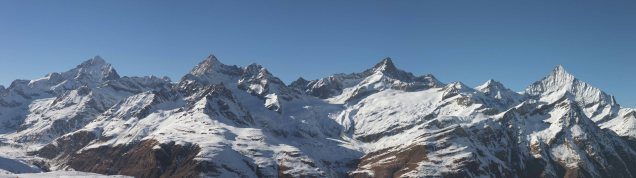 Zinalrothorn (and other 4000m peaks around Zermatt)