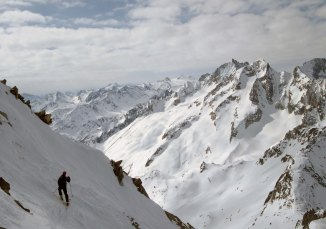Top of Pizzo Lucendro North East Face