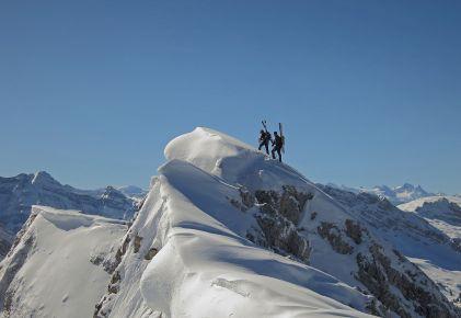 On top of Schiberg (Canton Schwyz)