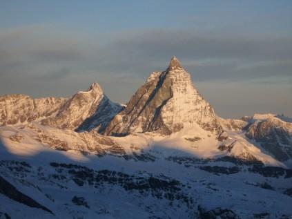 Matterhorn in the morning sun