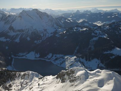 Ascent on ridge
