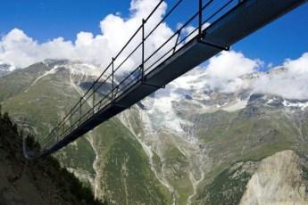 Randa 250 m Hochalpin auf 2350 müM