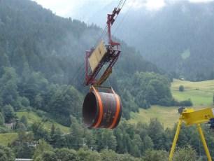 Laufwerk mit Hubwinde für 10 Tonnen