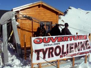 SWISSROPE Tyrolienne