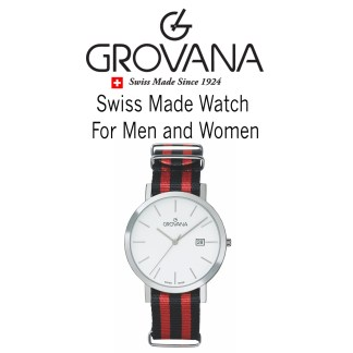Grovana Swiss Made Watch for Men and Women