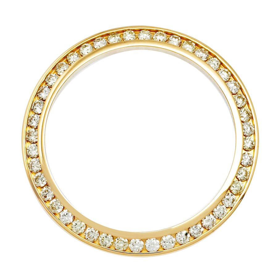 Ladies' Gold Bezel