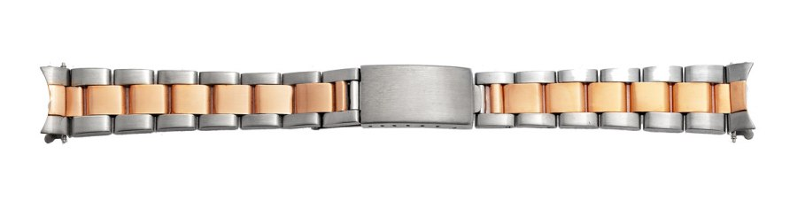 Gold and Silver Watch Band