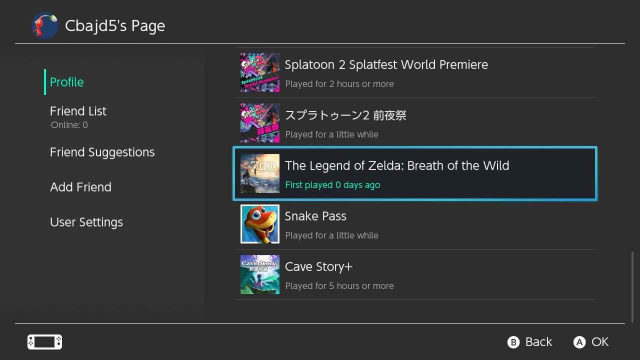 Atualizado Erro Reseta Horas Jogadas No Nintendo Switch
