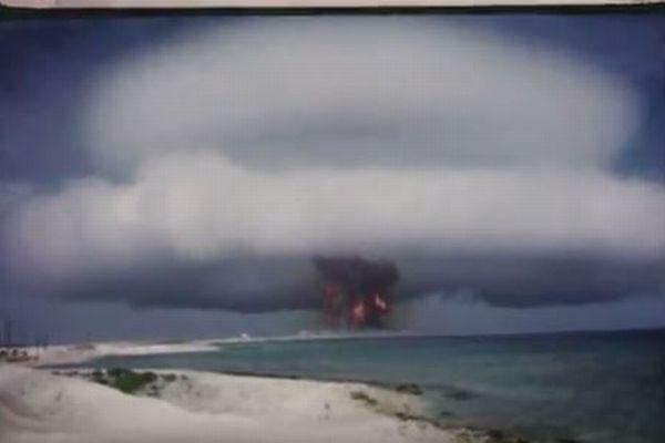 過去に行われた数々の核実験、爆発の瞬間をとらえた機密映像が公開される