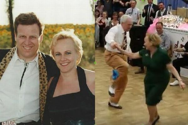 見ているだけで楽しくなる!ダンス大会でブギウギを踊る高齢カップルが話題に