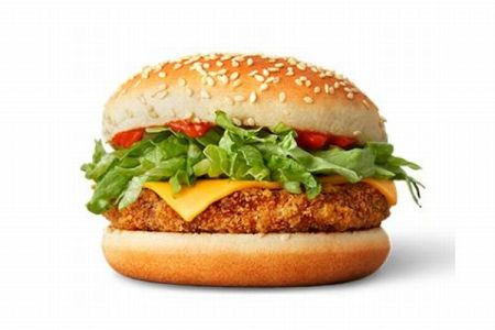 ノルウェーのマクドナルドが、菜食主義の人も利用できる新製品を発売