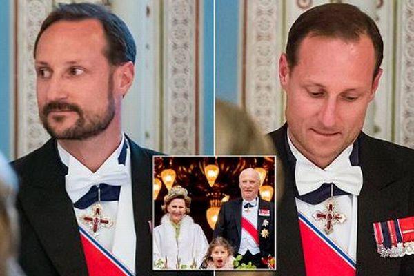 ノルウェーの皇太子はいたずら好き?ディナーを途中退席した後にヒゲを剃って再登場