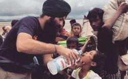 シーク教徒のボランティア団体が、ロヒンギャ支援に立ち上がる