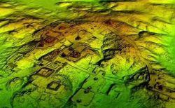 最新技術により、密林に埋もれていた古代マヤ文明の住居跡などが多く発見される