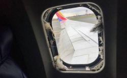米航空機のエンジン爆発、窓から吸い込まれそうになった女性が死亡【動画】