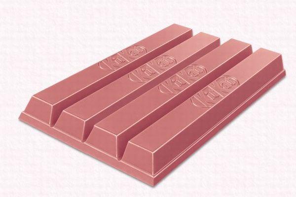 ルビーチョコから作られたキットカット、日本や韓国に続き英でも販売