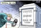 米国の風刺画家、トランプ大統領の絵を描いたことが原因で解雇され物議に