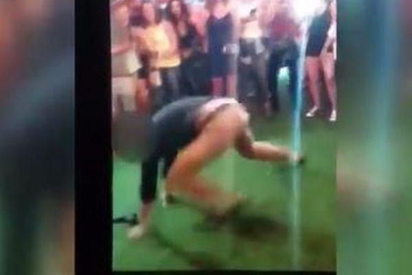 踊るFBI捜査官、ダンスの最中に銃が落下し暴発、付近の人に弾が命中