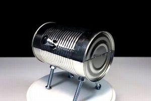本当に焼くことができる!空き缶で作る超小型のバーべキューコンロがユニーク