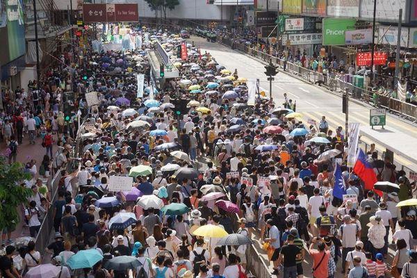 民主化運動が弱まっている?香港...