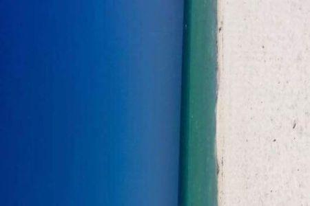 どちらに見える?青いドア?ビーチ?投稿された1枚の写真が議論を呼ぶ