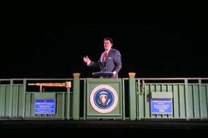レーガン元大統領がホログラムで蘇る、演説の様子を再現した3D映像が話題に