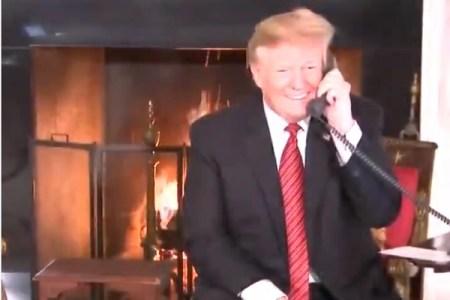 7歳児に「まだサンタを信じているのか?」と聞いたトランプ大統領に呆れる声続出