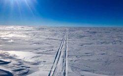 世界初、アメリカ人男性が南極大陸の単独横断に成功