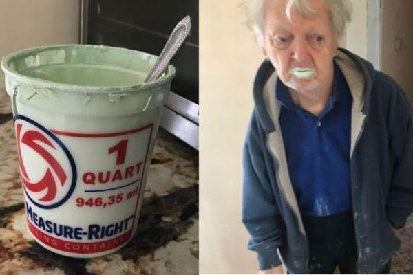 ヨーグルトと間違えてペンキを食べてしまった90才の祖父に全く後悔なし