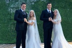 一卵性双生児同士で結婚した2組のカップル、双子同士の出会いと結婚生活とは?