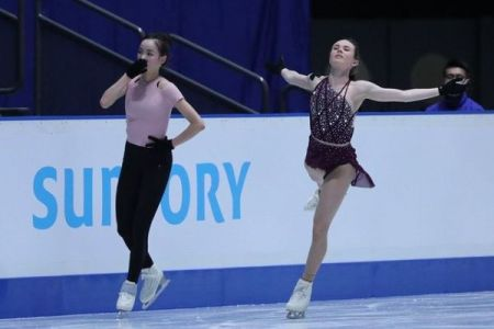 米選手が故意にぶつかった?女子フィギュアの韓国選手が練習中にケガを負う【動画】