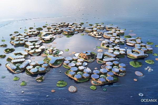 将来的に海上都市が出現?国連も支持する近未来の都市計画の概要が明らかに